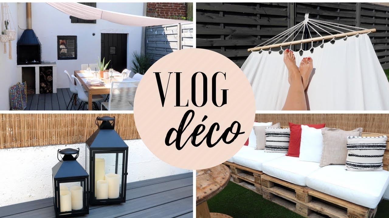 Deco Petite Terrasse Exterieur aménagement & décoration de la terrasse - vlog