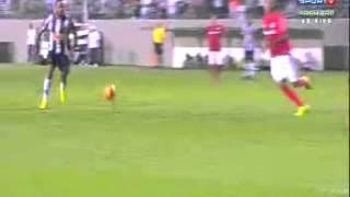 Gol de  Alesandro     Atletico MG 2 x 1 Internacional Brasileirao 2013