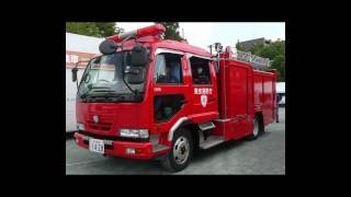 Japan Fire Engine【日本の消防車】Requiem For A Dream【Picture】HD720P