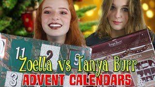 Zoella Advent Calendar vs Tanya Burr Christmas Advent Calendar 2017 | NiliPOD