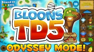 Bloons Tower Defense 5: Odyssey Mode on Easy #3