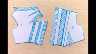 Моделируем платье с асимметричной горловиной и драпировками по лифу
