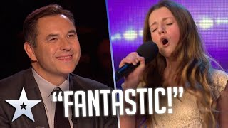 12-year-old WELSH girl delivers FLAWLESS Whitney Houston Cover! I Auditions I BGT Series 9