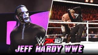 Jeff Hardy Face Paint Wwe 2k16