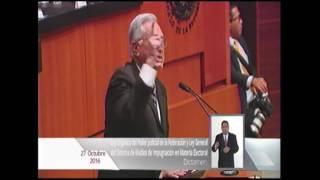 PRI PAN y PRD pactaron fraude electoral para 2018: Manuel Bartlett