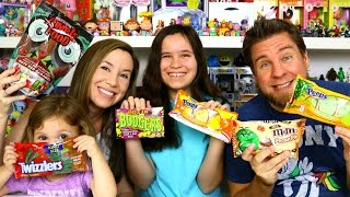 Taste Test - Halloween Candy M&m's Pecan Pie, Peeps Candy Corn, Peeps Caramel Apple
