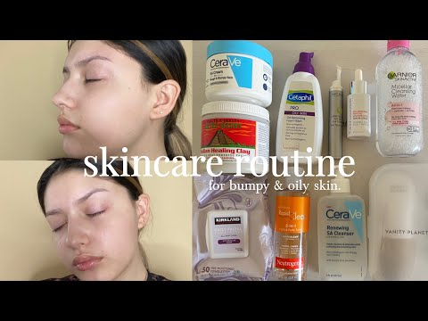 skincare-routine-|-for-bumpy-&-oily-skin