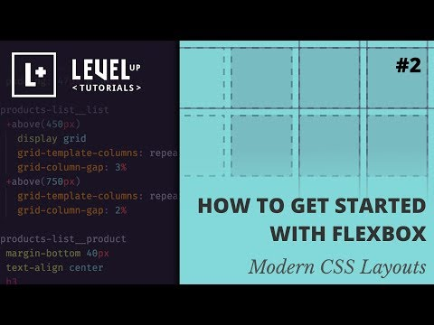 How To Get Started With Flexbox - Modern CSS Layouts #2