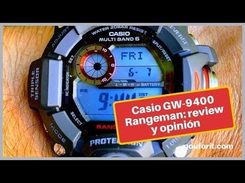 Probando el Casio G-Shock Rangeman GW-9400