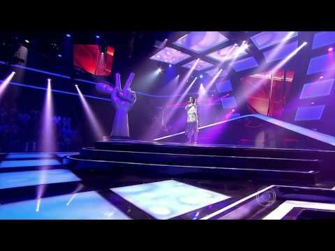 The Voice Brasil - Karina Duque Estrada se apresenta na Audição