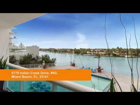 Virtual Tour Video - 6770 Indian Creek Drive, # 4G, Miami Beach, FL  33141
