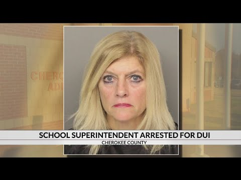 Cherokee Co. School Supt. Dr. Quincie Moore charged with DUI