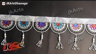 DIY Toran / Bandhanwar from Waste CD / DVD   How to make   JK Arts 528 Mp3