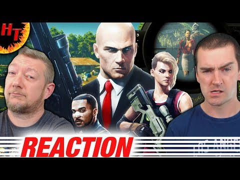 HITMAN 2- Official Colombia Gameplay Trailer Reaction
