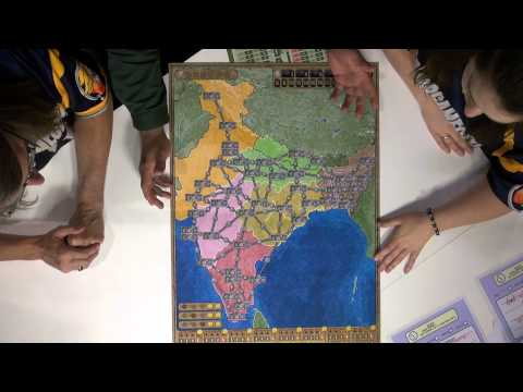 Power Grid: Australia & Indian Subcontinent - Spiel 2013