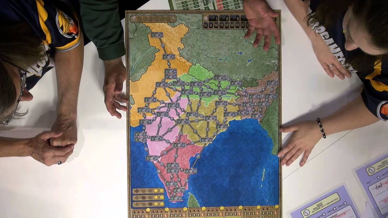 Map Of Australia Youtube.Power Grid Australia Indian Subcontinent Spiel 2013