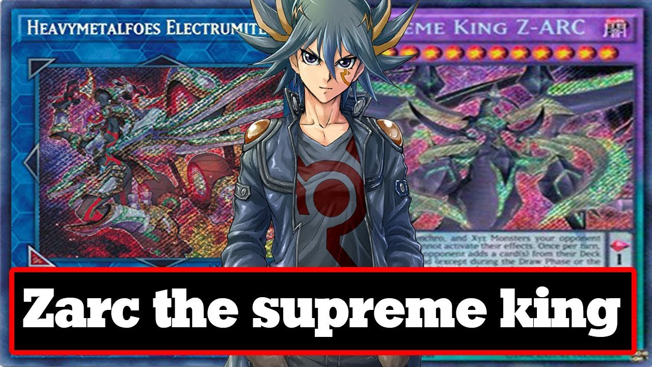 Ygopro Zarc The Supreme King Link Format I Will Rule Everything
