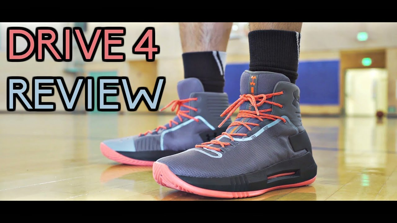 9b50ba64ca42 Under Armour Drive 4 Performance Review! - YouTube