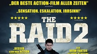 THE RAID 2: Trailer german deutsch