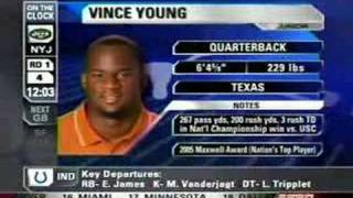 Vince Young Draft Day