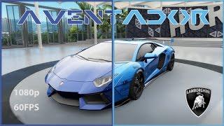FH3 Lamborghini Aventador customization + Test drive Stock VS fully upgraded!