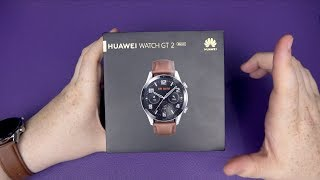 Huawei Watch GT2 46mm Unboxing & First Setup