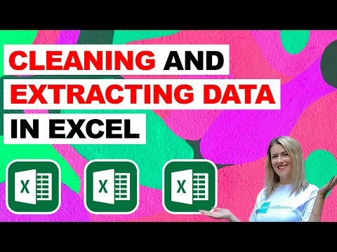 Cleaning and Extracting Data in Microsoft Excel