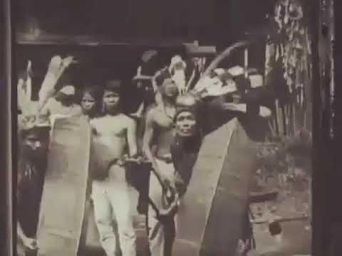 Dayak Tempo Dulu Tahun 1913 Dari East Kalimantan