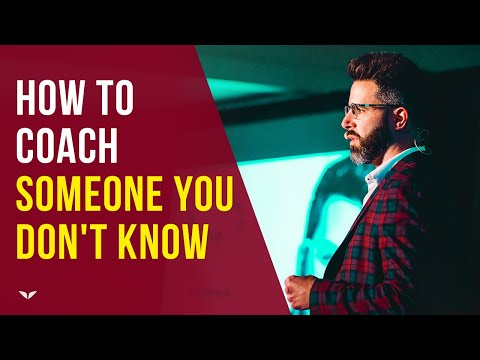 How To Coach Someone You Don't Know by Rich Litvin