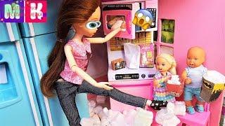 ОХ УЖ ЭТИ МУЛЬТИКИ! КАТЯ И МАКС ВЕСЕЛАЯ СЕМЕЙКА #куклы #мультики