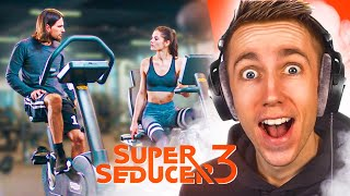 SUPER SEDUCER IN A GYM?
