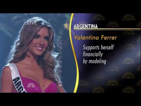 Miss Universe 2014 in 1080p HD   Top Ten Announced Part 1 of 2