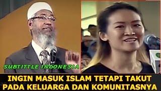 SUBS INDO ! Ingin Masuk Islam Tapi Taku Pada Keluarga || Dr. Zakir Naik UMY Yogya 2017