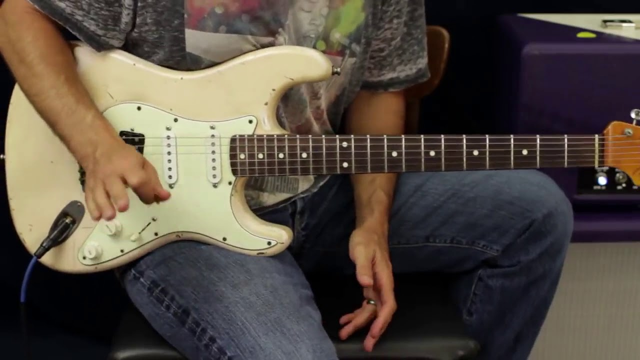 How To Play Pearl Jam Even Flow Guitar Lesson Youtube