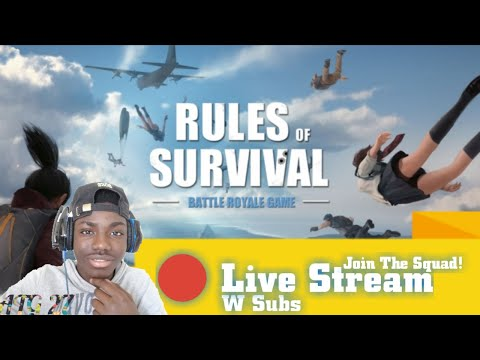 Rules Of Survival Stream //W Subs