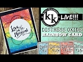 Ken's Kreations LIVE -Distress Oxide  Inks
