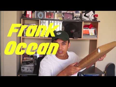 Frank Ocean Black Friday Merch Unboxing