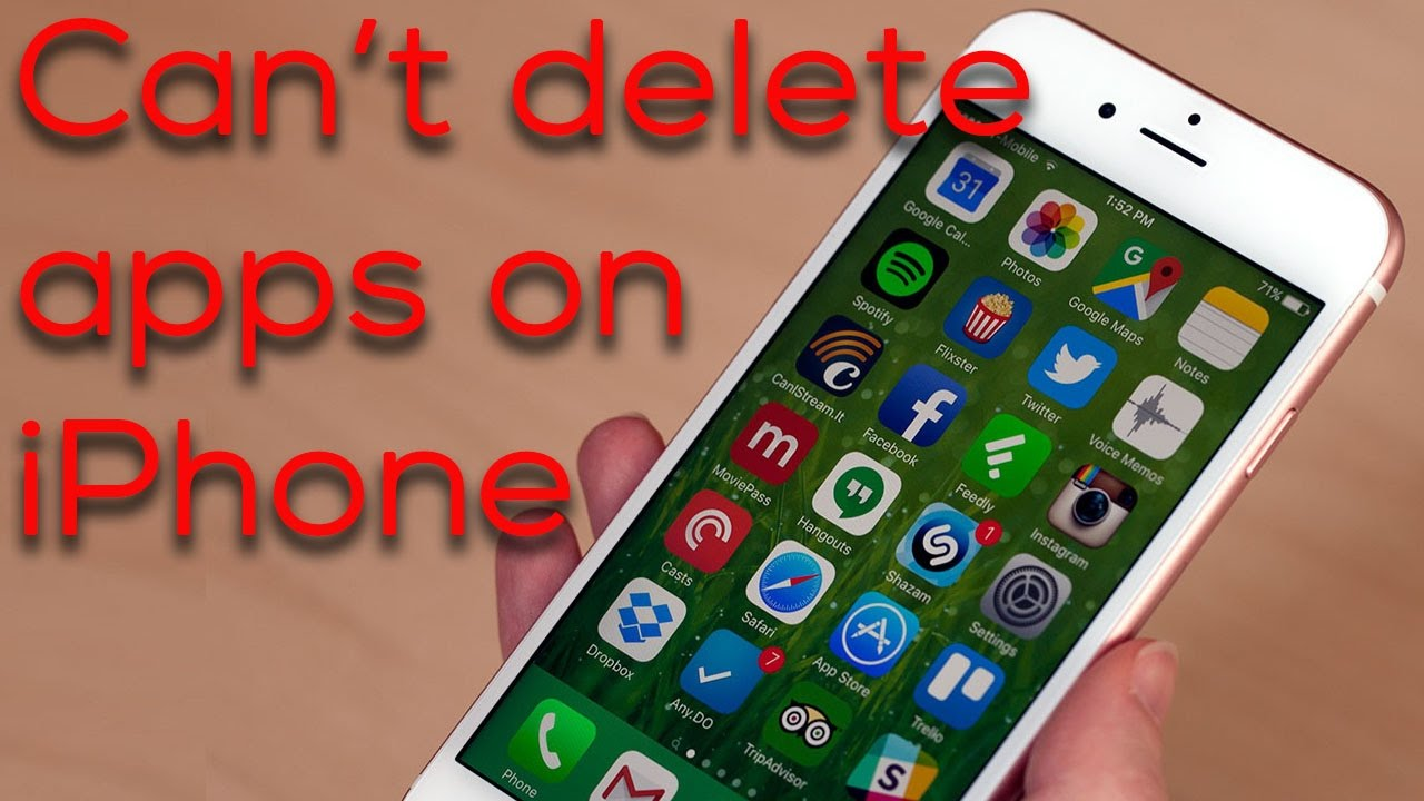 can t delete photos from iphone what to do if you can t delete apps on iphone 3556