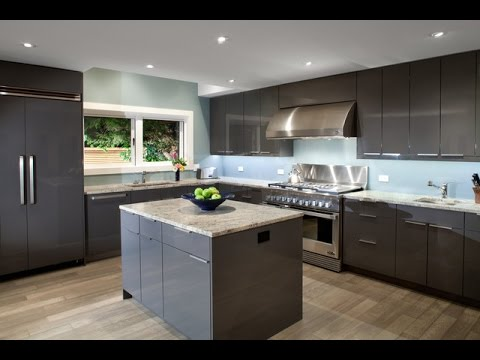 15 best designs of modern kitchen luxury interior design youtube. Black Bedroom Furniture Sets. Home Design Ideas