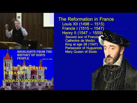 31. The Reformation in France