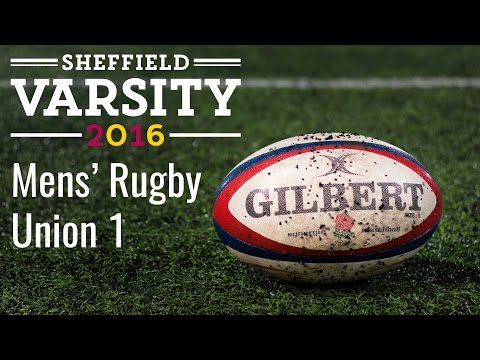 Sheffield Varsity 2016: Mens Rugby Union 1s (LIVE)