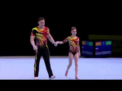 2018 Acrobatic Worlds – Russia, Mixed Pair Qualifications
