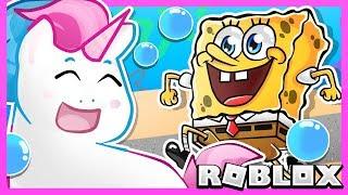 Roblox | Escape Krusty Krab Spongebob Tycoon With Honey The Unicorn
