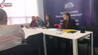 Трибина у Смедеревској Паланци, др Јована Стојковић