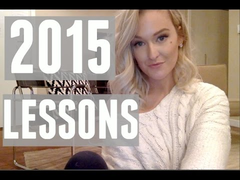 ca2539904b463d WHAT 2015 TAUGHT ME - YouTube