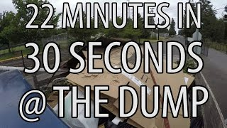 In 30 Seconds: 1220 Pounds at the Dump