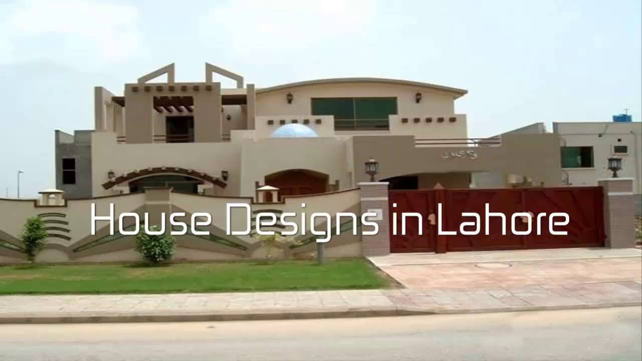 Single House Front Elevation Models : Marla kanal house design plans in lahore