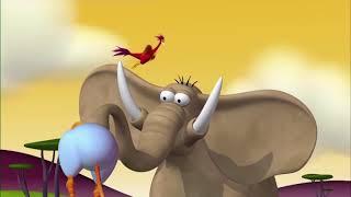 Газун звериные приключения | День или Ночь | Новые серии про слоника Gazoon | Мультики для детей