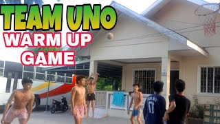 TEAM UNO WARM UP GAME @IVY MIRANDA VLOG