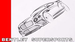 John Paul Gregory on Sketching Bentley Supersports